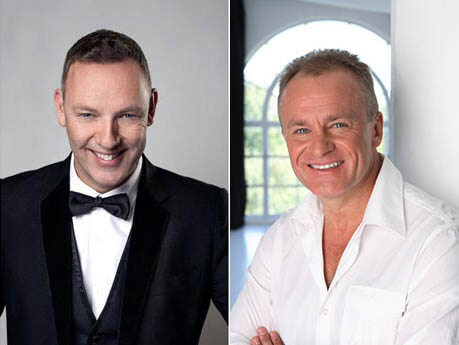 Paul Martin and Bobby Davro